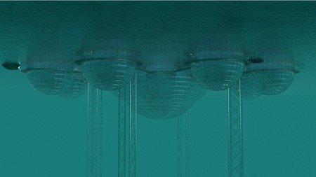 Plaukiantys ar plūduriuojantys namai | Namas ant vandens Kupolai