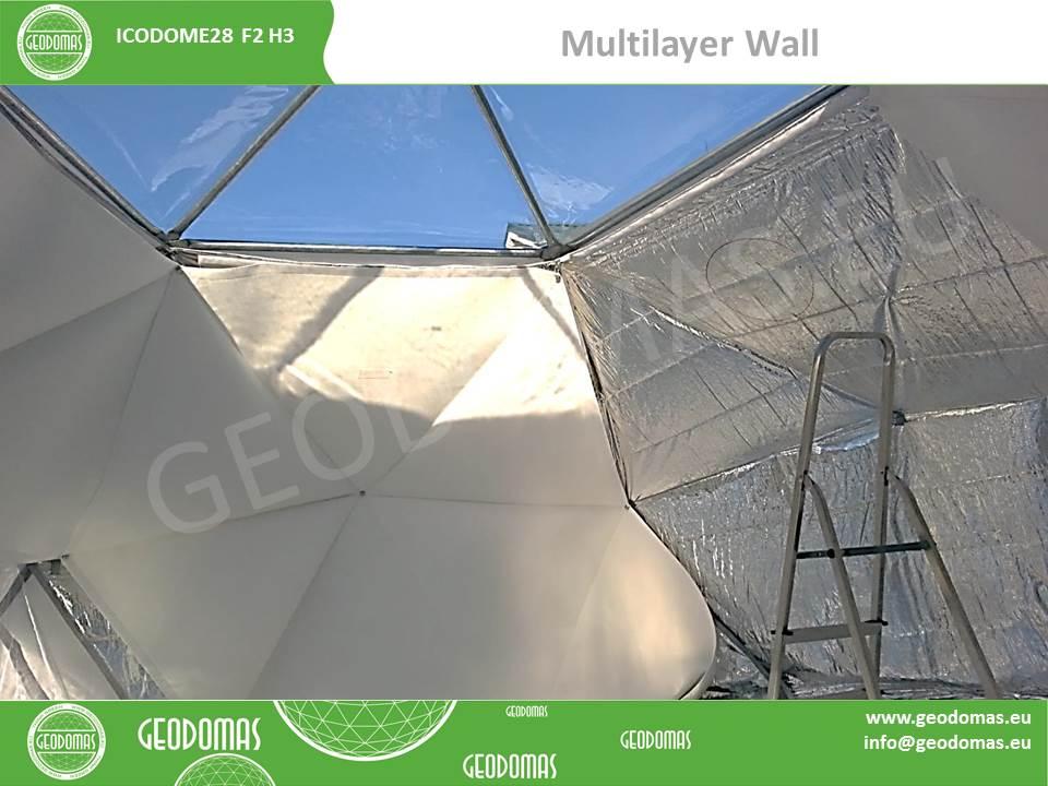 Portable Domes Bungalow Village 38m2 | Mobile Home