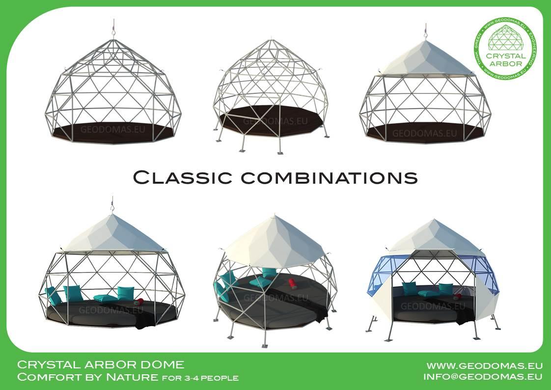 Pakabinama Crystal geometrinė SŪPYNĖ | Glamping