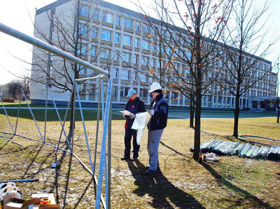 Portable Dome Ø20m for AgroBalt Expo Agriculture, Kaunas, Lithunia