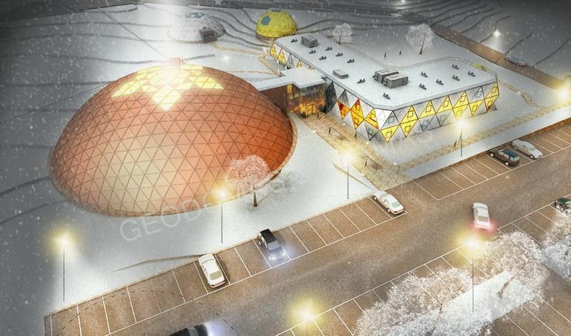 Viešbučio ir SPA kompleksas 5☆ | Futuristinės architektūros pastatas 3634m2