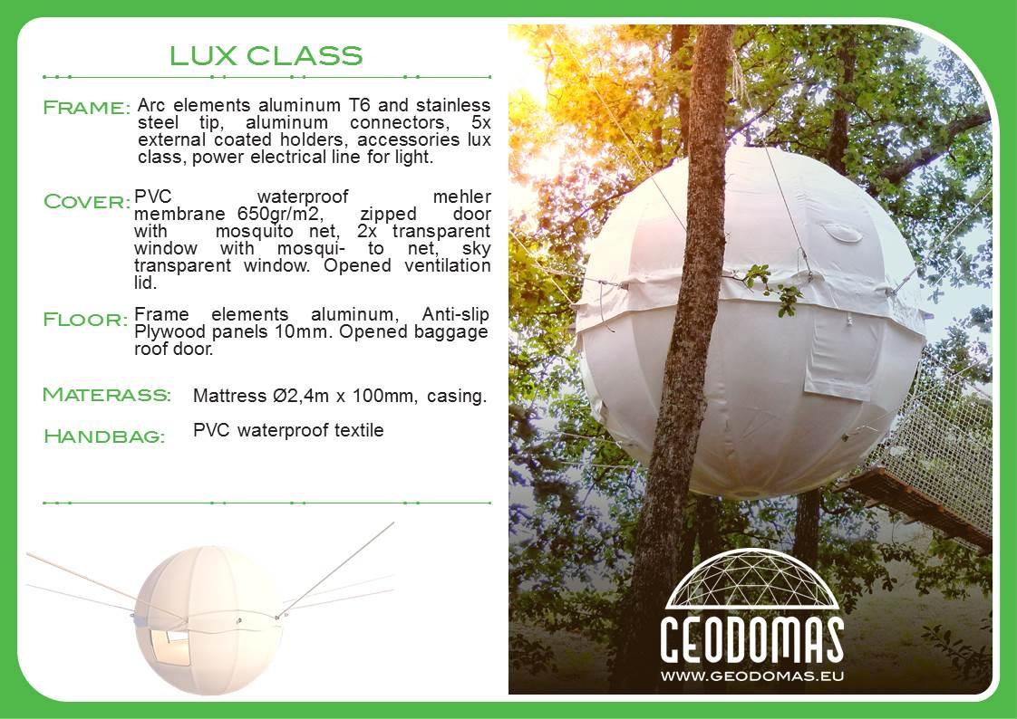 Kokonas medyje Cocoon Tree palapinė Kupolas