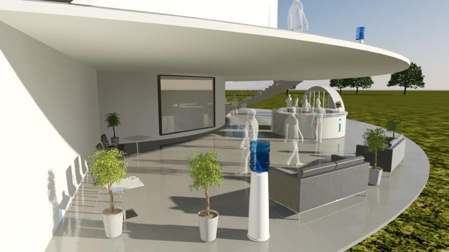 Sferinio kinoteatro kupoliniai pastatai |  360°x180° pilnos projekcijos ekranas