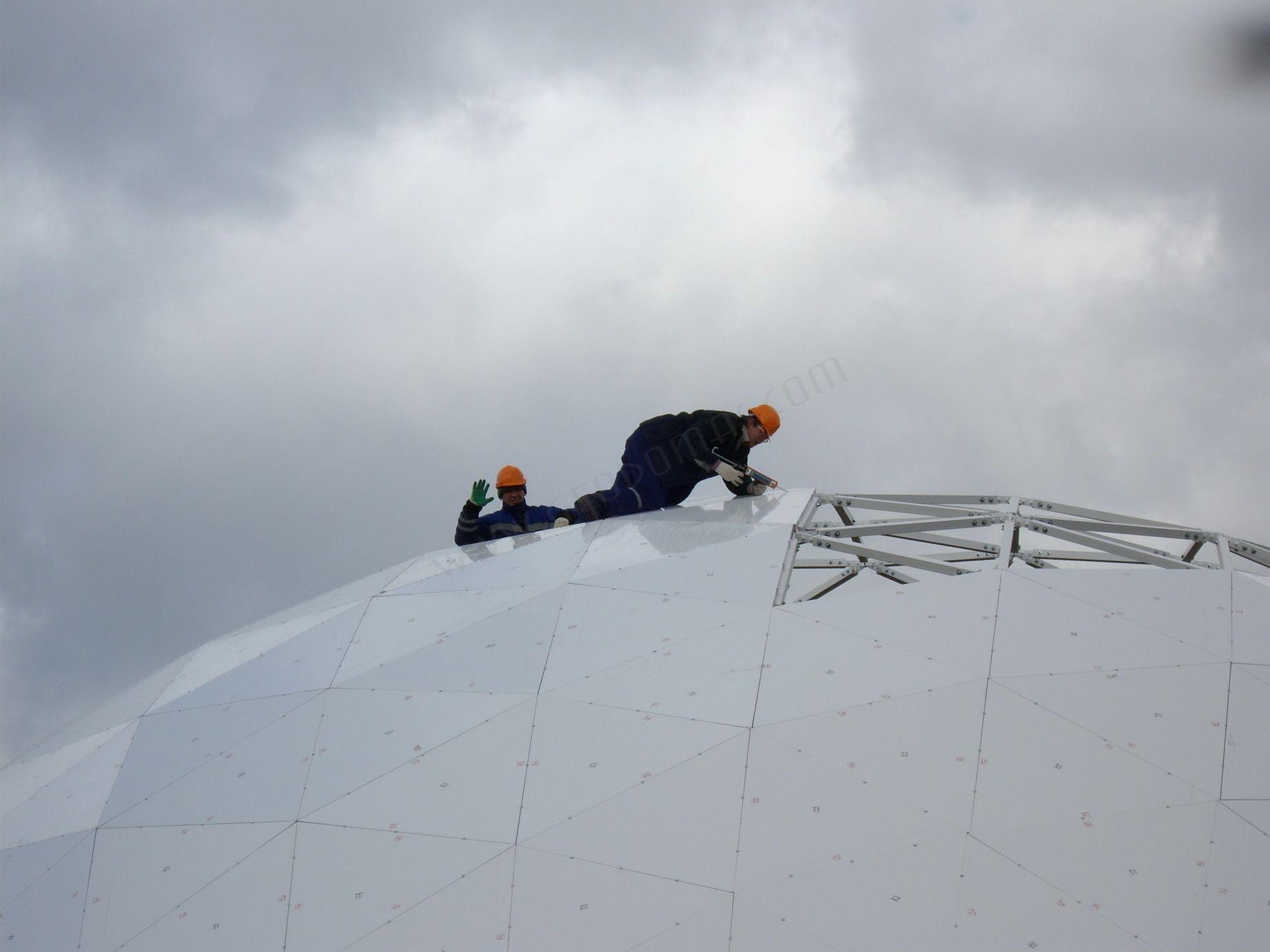Mobilus Šiltas Kupolas Renginių Klubas VO3DUX | Kupolai Ø20m & Ø6m, Rusija