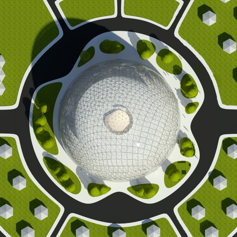 """Eco City In The Framework Of The Program """"New World"""" 