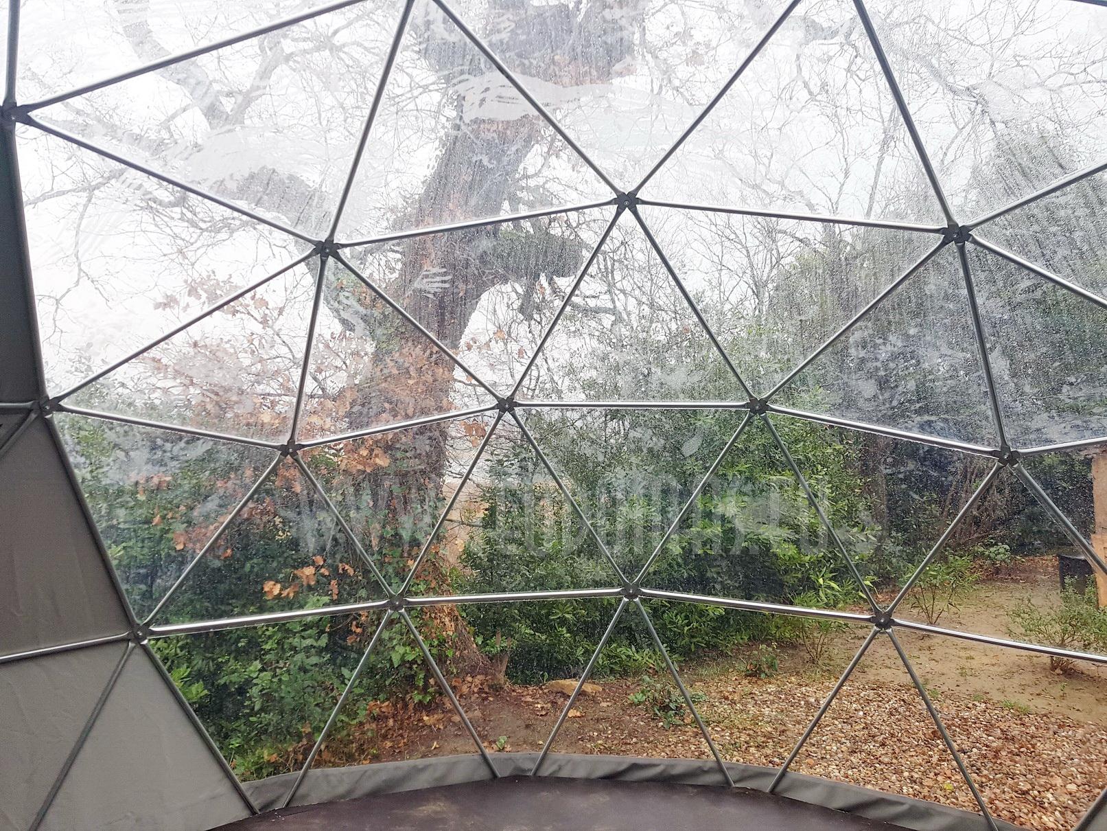Ø5m F3 20m2 skaidrus kupolas | Kaimo turizmas, Prancūzija