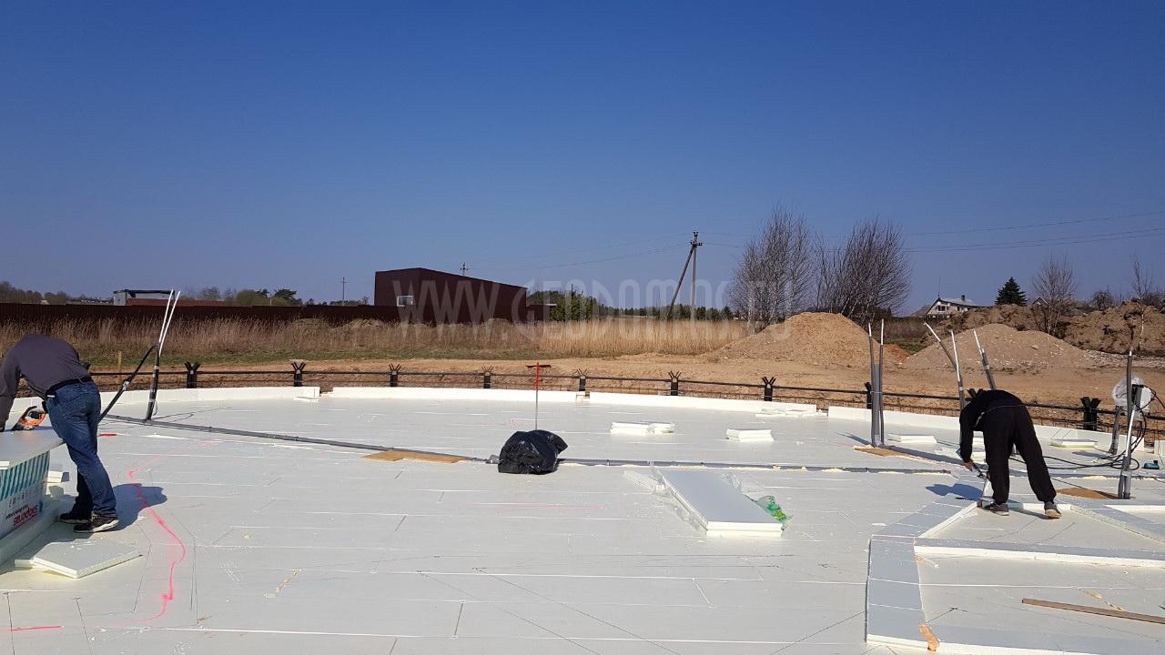 Šiuolaikinis Ø20m apvalūs biurų pastatas 460m2 | Kupolas prie Vilniaus