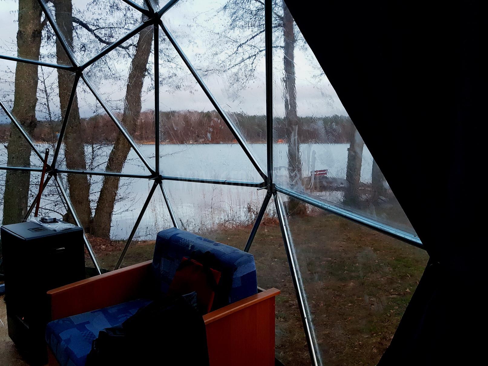 Mobilus Kupolas Ežero Krante 25m2 Ø5m F3 | Olsztynas, Lenkija