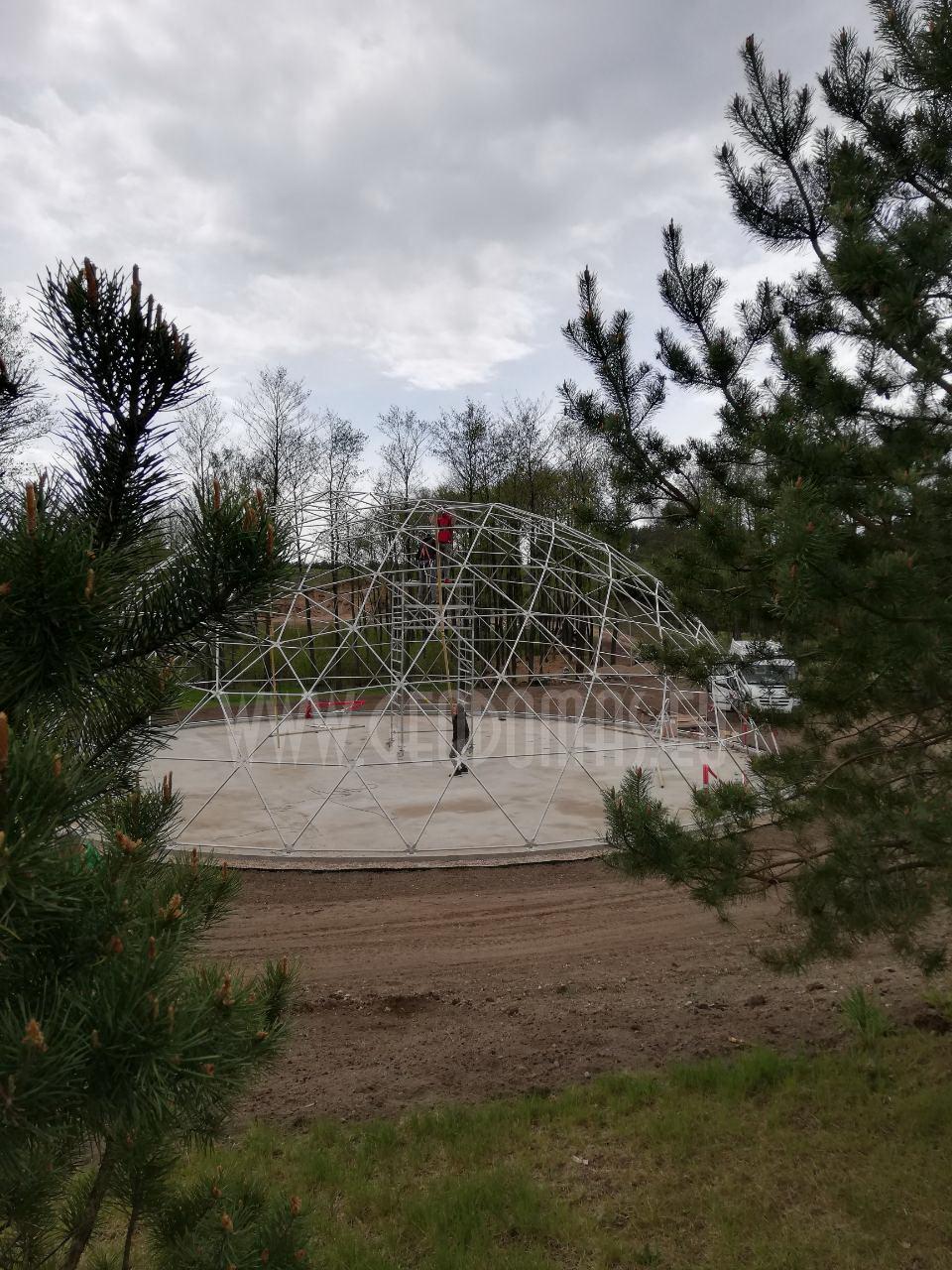 Ø18m F6 H6,5m Kupolas Vaikams | Margio Poilsiavietė, Trakai