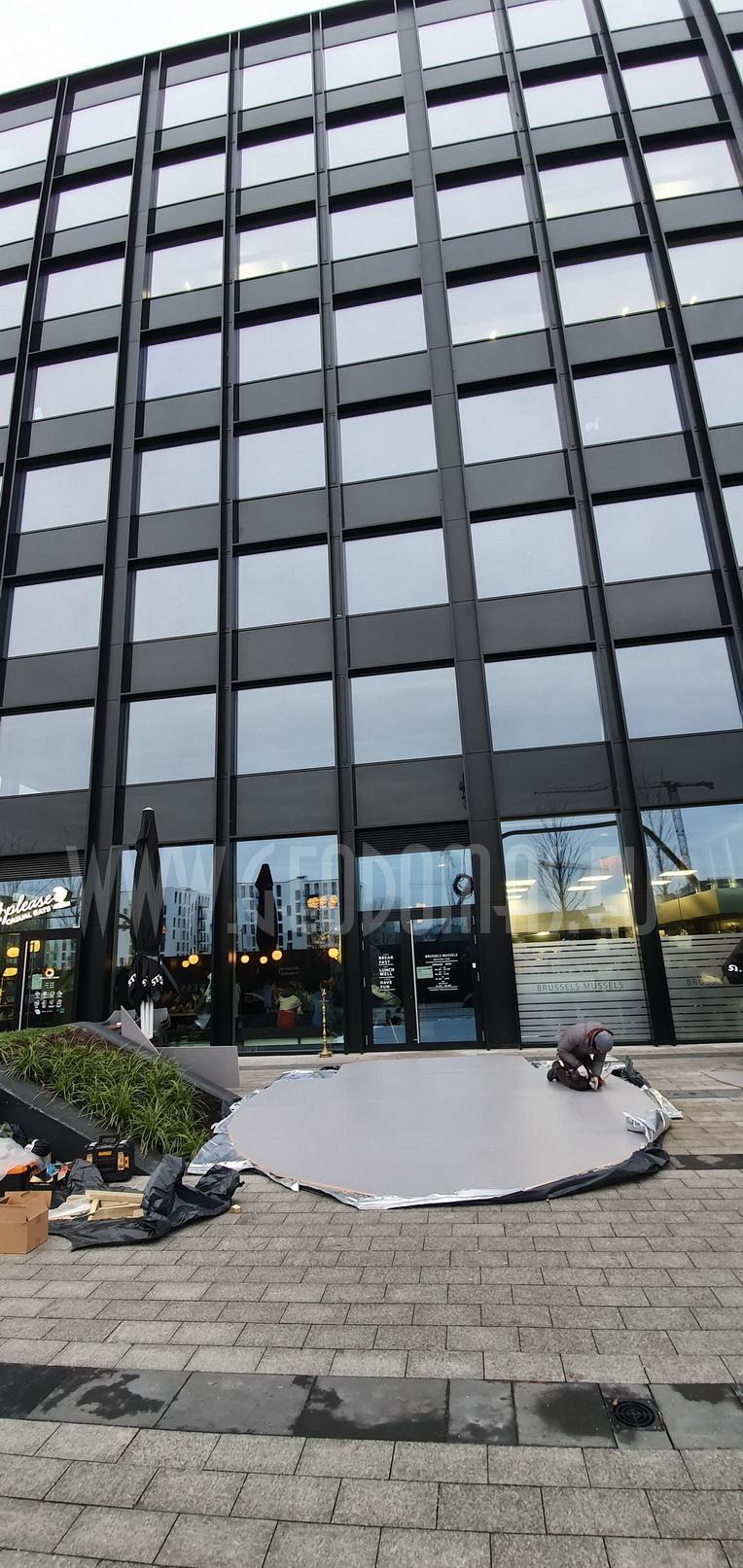 Hybrid Ø7x5m Stella Artois BLACK DOME | Brussels Mussels, Vilnius