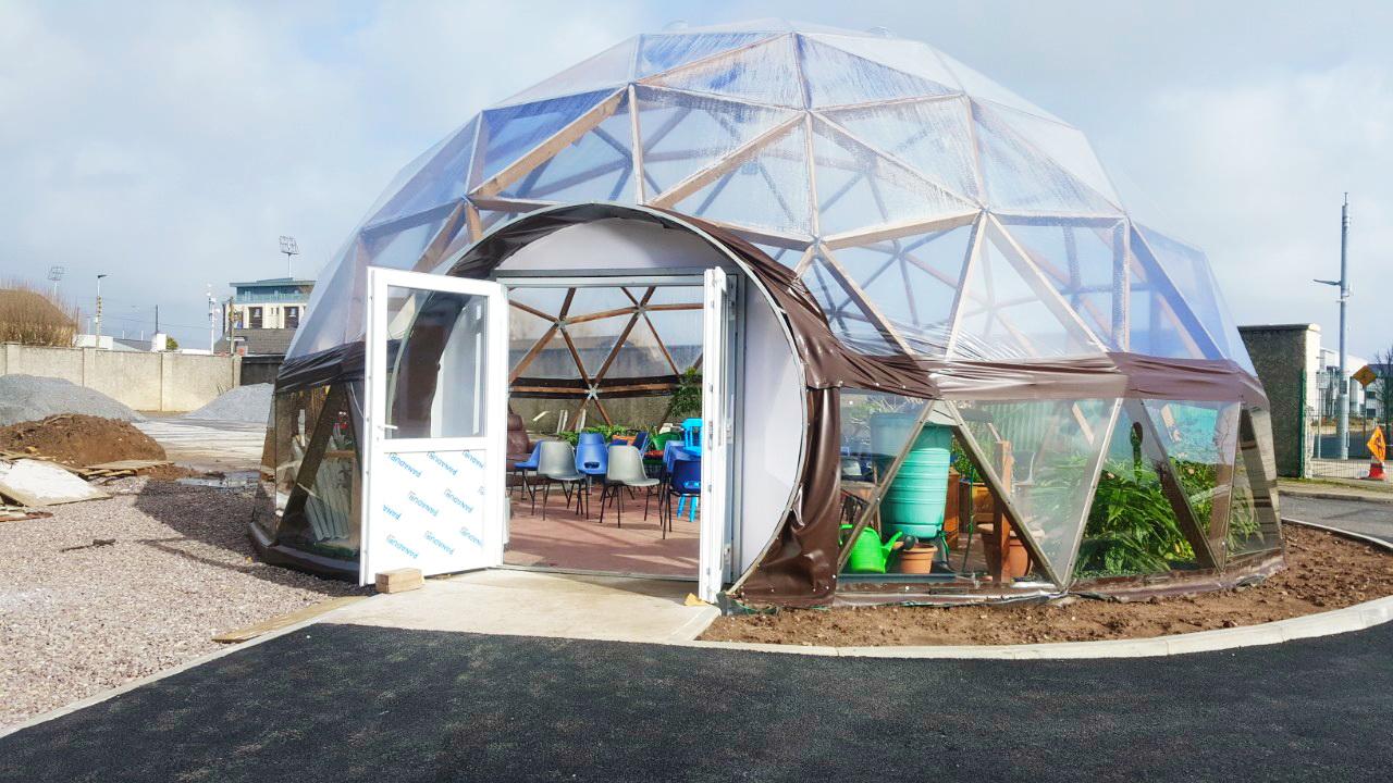 78m² Saulės kupolas Ø10m F4 H5m | Trali, Airija