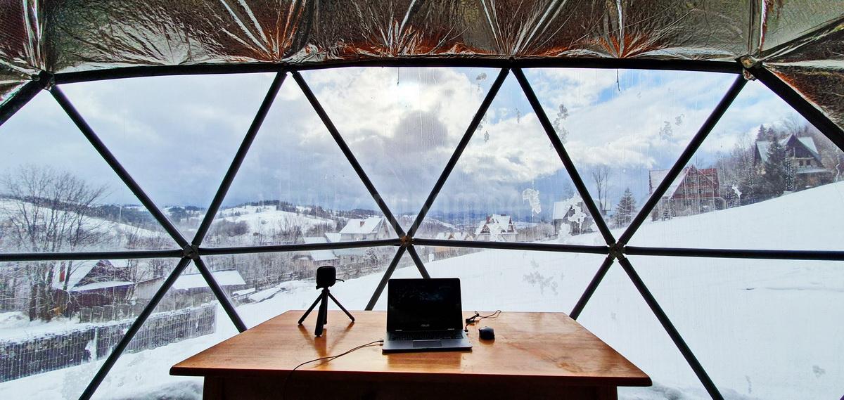 Glamp Royal poilsiavietė – Zakopane, Lenkija | Kupolai 35m² Ø6,7m