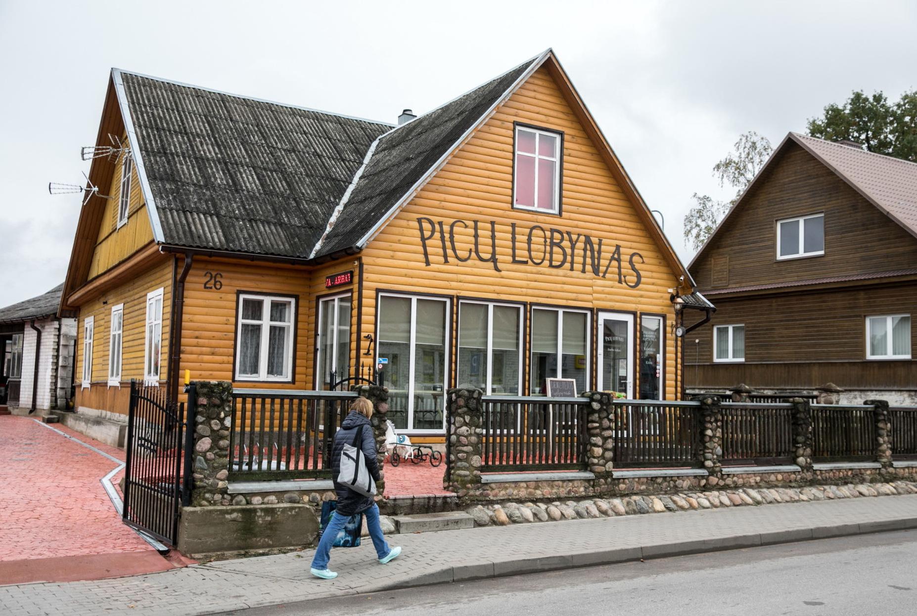 63m2 Kupolinė picerija Ø9m   Picų lobynas, Rūdiškės