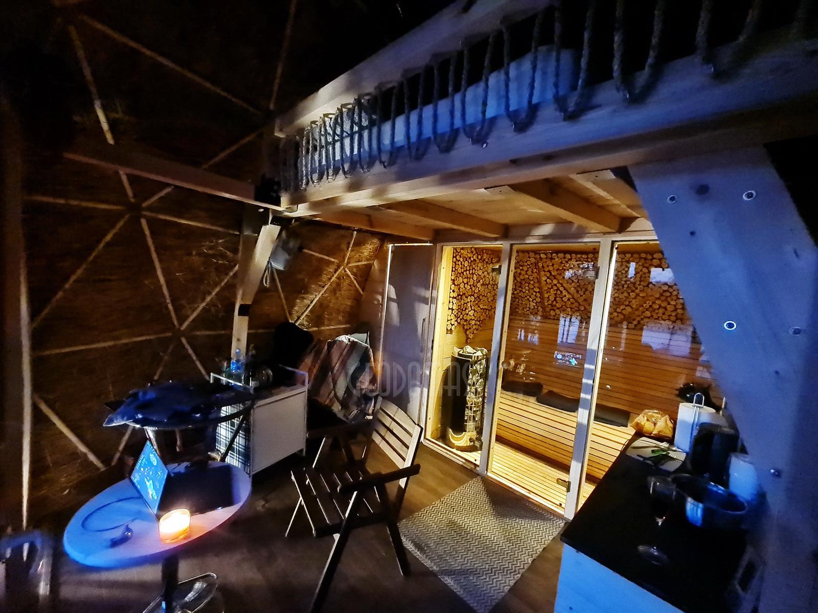 20m2 Ø5m Glamping Kupolas | Ekologinė bendruomenė, GLAMPINGLITHUANIA