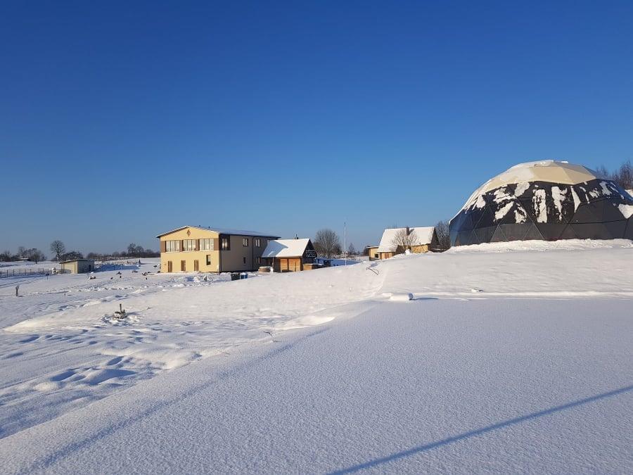 Ø11m 95m2 Renginių Kupolas | MEDA NAMAI, Lietuva